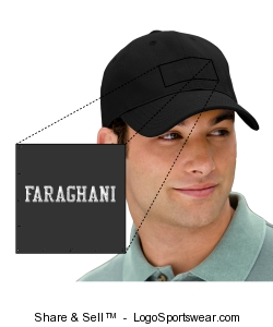 New Era faraghani fitted flex cap Design Zoom